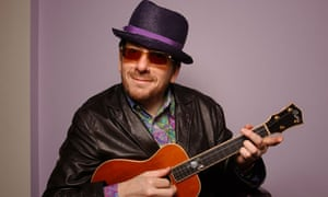 British musician Elvis Costello