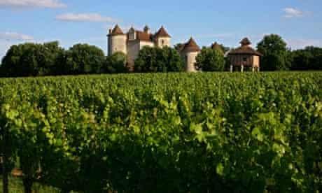 Chateau Lagrezette, Cahors.