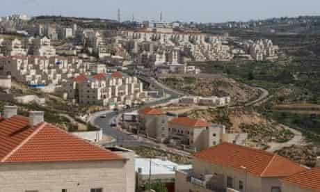 The Jewish settlement of Beitar Illit in the West Bank