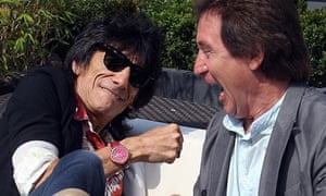 Faces guitarist Ronnie Wood, left, and drummer Kenney Jones