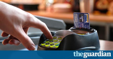 Credit card spending soars money the guardian - Shopping cash card paying spending ...