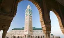 Hassan II Mosque, Casablanca.