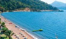 Hisaronu beach, Turkey