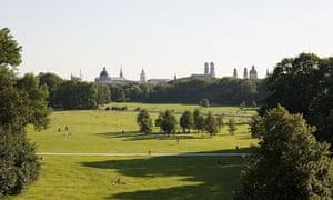 English garden, Munich, Germany