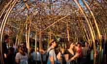 Big Bambu at New York's Metro Museum.