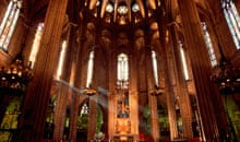 Interior of Barcelona Cathedral