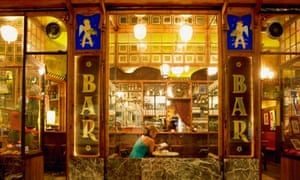 Cafe and bar in Barcelona's El Raval district