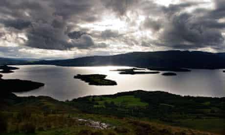 Loch Lomond from The West Highland Way