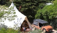 glamping in europe 39 s top 10 luxury campsites travel the guardian. Black Bedroom Furniture Sets. Home Design Ideas