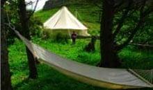 Canna Camping, Scotland