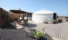 Eco Luxury Yurt, Lanzarote