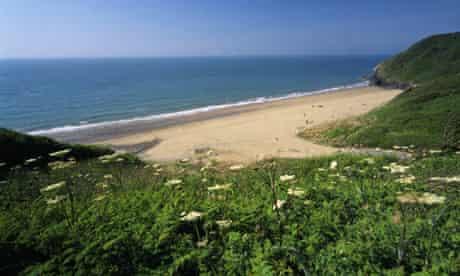 Penbryn beach, Ceredigion, Wales