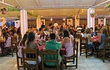 The Pink Palace hostel, Corfu, Greece