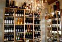 Bar Alpino osteria, Italy's prosecco region