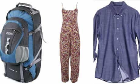 Backpacker essential packing
