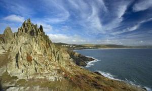 Morte Bay, from Morte Point, North Devon