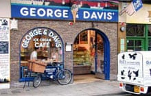 George and Davis' ice-cream, Oxford