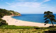 Blackpool sands beach, Devon
