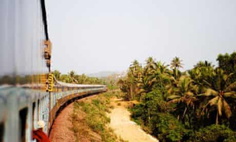 Goa to Londa by train