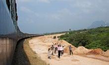 Island Express train, India