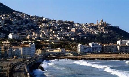 City of Algiers overlooking the Mediterranean, Algeria