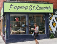 Friperie St Laurent, Montreal, Canada