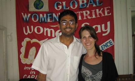 Vicky Baker met Vidya Anna when she Couchsurfed across South America