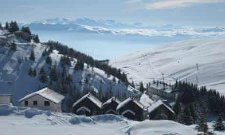 Skiing in the Balkans