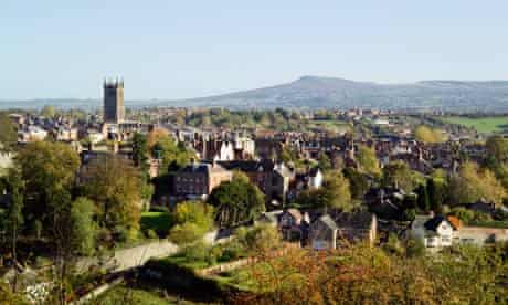View of Ludlow England