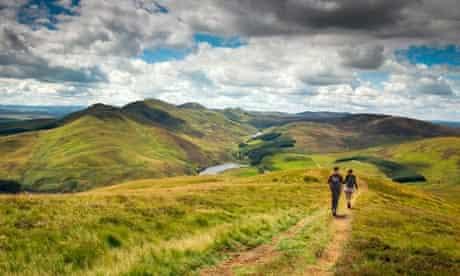 Hillwalking in the Pentlands