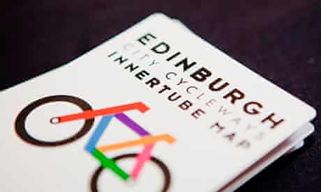 Cycling the Edinburgh Innertube