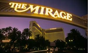 The Mirage hotel resort and casino, Las Vegas.