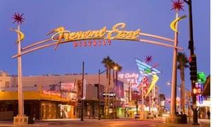 Fremont Street East District, Las Vegas