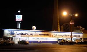 White Cross Drug Store, Las Vegas.
