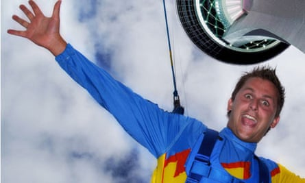 Jumping off the Stratosphere Tower, Las Vegas