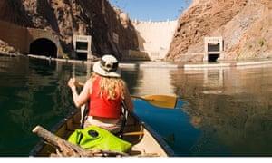 Kayaking in the Colorado River