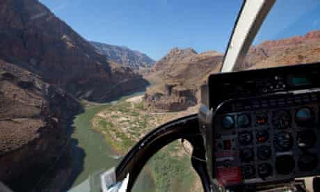 Helicopter to the Grand Canyon, Arizona