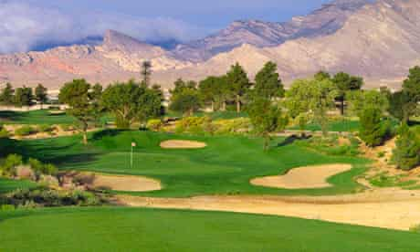 Golfing at Angel Park
