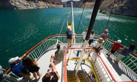 Cruising on Lake Mead, Nevada.