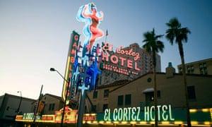El Cortez, Fremont Street, Las Vegas.
