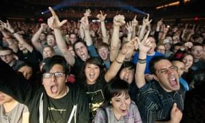 Crowds appreciate Weezer at The Joint, Hard Rock Hotel & Casino, Las Vegas