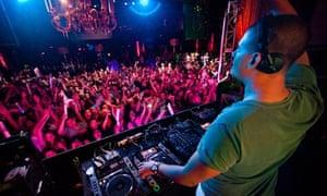 Afrojack and Steve Aoki perform at XS Nightclub at Encore, Las Vegas