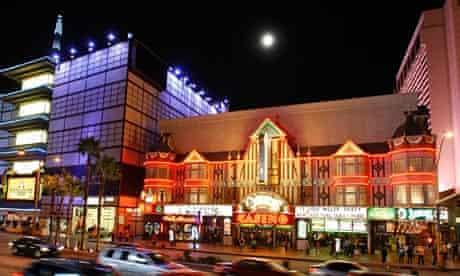 O'Sheas club, Las Vegas.