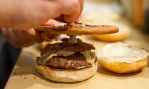 Burger & Barrel white truffle burger