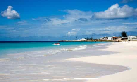 Carlisle Bay Beach in Bridgetown