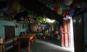 Maximón shrine, Guatemala