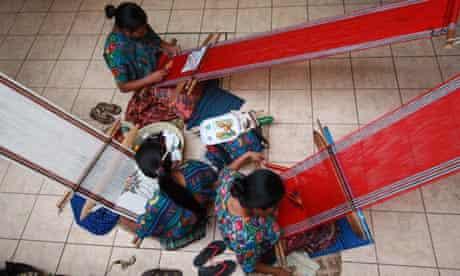Mayan weavers, Guatemala