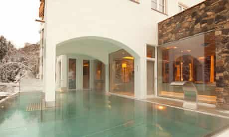 St Anton's stylish Mooser hotel