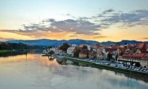 Maribor, Slovenia's second city, near the Austrian border