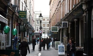 Cecil Court in London's West End